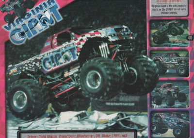 virginia giant monster jam advertisement from 2000