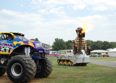 2010 truck nationals with virginia giant and megasauras