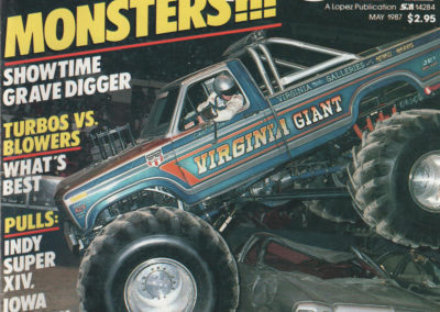 Cover of Pulling Power Magazine May 87